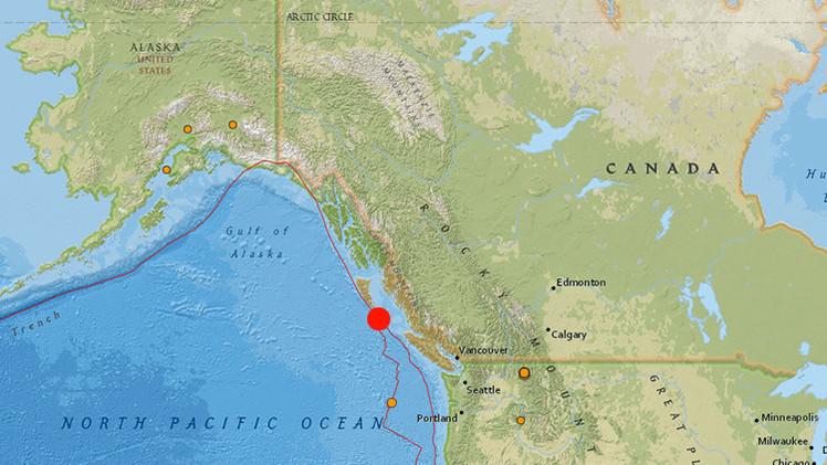 Un sismo de 6,1 sacude Canadá