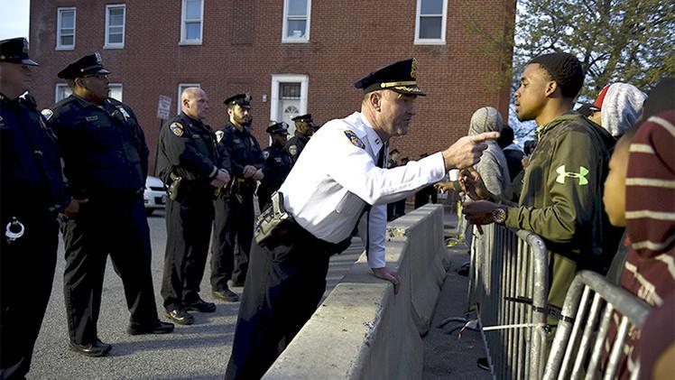 Policía de Baltimore: Freddie Gray no ha recibido la atención medica tras ser herido