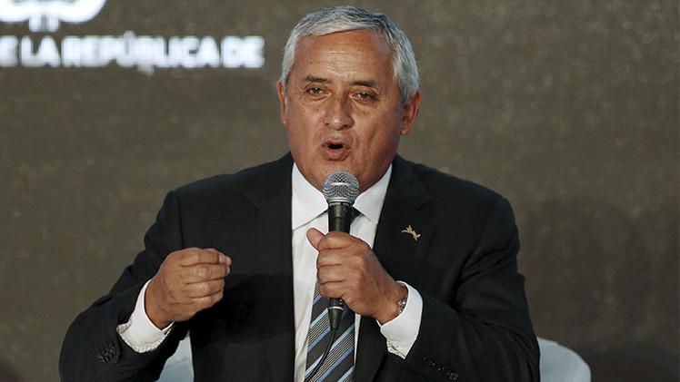 Denuncian al presidente de Guatemala Otto Pérez Molina por ocho delitos