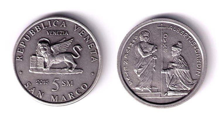 Italia: El 'Gobierno Veneziano' presenta el San Marco, su nueva moneda