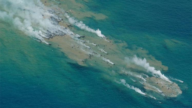 Videos: El poder explosivo de los volcanes, mayor bajo el océano que en superficie