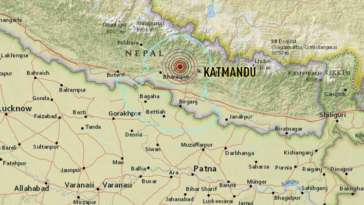 Un nuevo terremoto de magnitud 5,6 sacude Nepal
