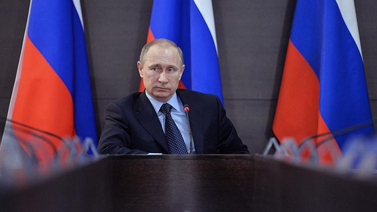 Putin revela contactos entre servicios especiales de EE.UU. y extremistas del Cáucaso