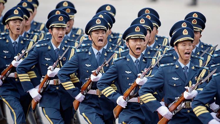 La Guardia de Honor del Ejército Chino llega a Moscú por primera vez