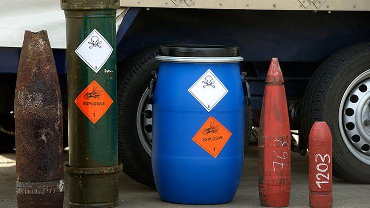 Las armas químicas más importantes del mundo