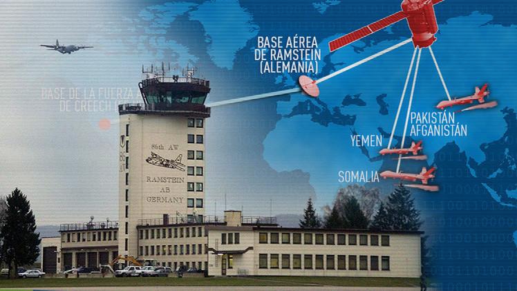 Filtración: Sin Alemania las operaciones con drones de EE.UU. no serían posibles