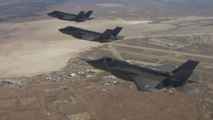 "Analista: ""Irán tendrá con qué responder a un ataque con cazas F-35"""