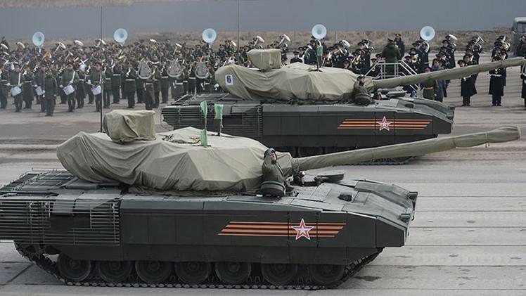 Nuevos tanques rusos Armata incorporan equipos para la guerra centrados en redes