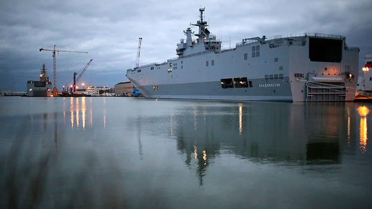 Putin y Hollande llegan a un acuerdo sobre los Mistral