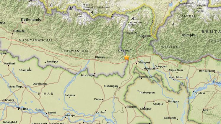 Un sismo de magnitud 5,1 se registra en la India