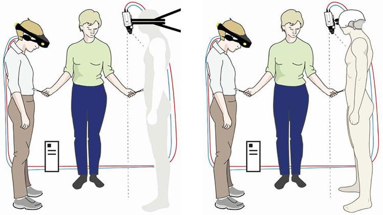 El experimento recrea el sentido de invisibilidad