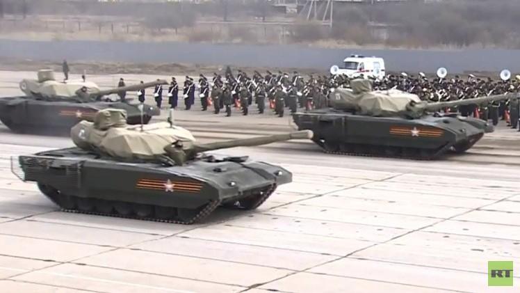 El tanque ruso Armata será teledirigido y no podrá ser exportado