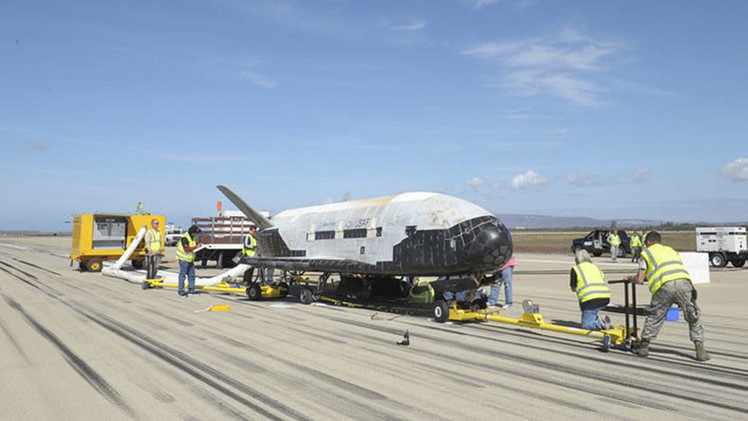 EE.UU. revela detalles sobre su dron espacial secreto X-37B