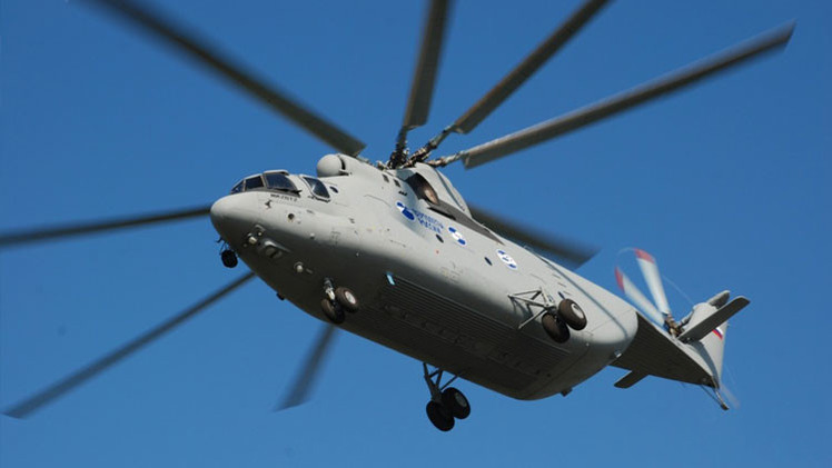 Rusia y China diseñarán un helicóptero pesado de enorme carga útil