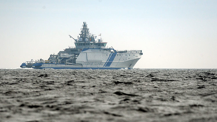 Finlandia lanza explosivos contra un supuesto submarino extranjero