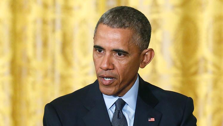 """Barack Obama: """"Criminales y matones destrozaron"""" Baltimore"""