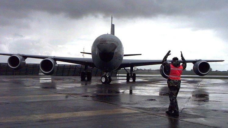 Un avión militar de EE.UU. desaparece del radar sobre el canal de la Mancha