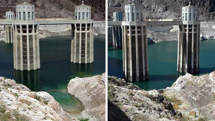 Millones de personas se quedarán sin agua por el descenso del mayor embalse de EE.UU.