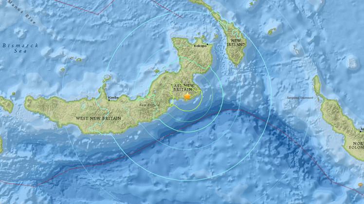Un terremoto de magnitud 6,8 sacude Papúa Nueva Guinea