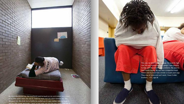 Impactantes testimonios: Así es la vida de menores detenidas en cárceles juveniles en EE.UU. (Fotos)