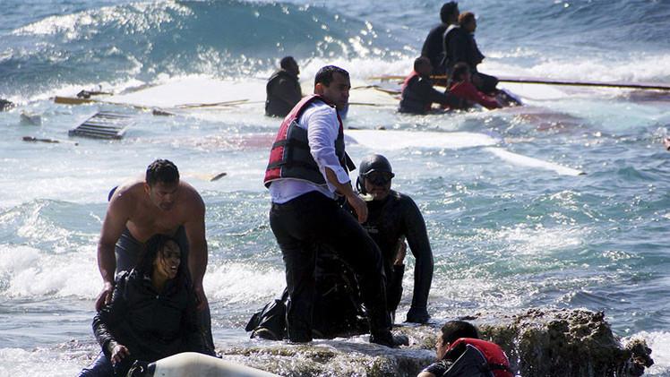 Ahogarse: la única oportunidad de mejorar su vida que tienen los migrantes africanos (FOTOS)