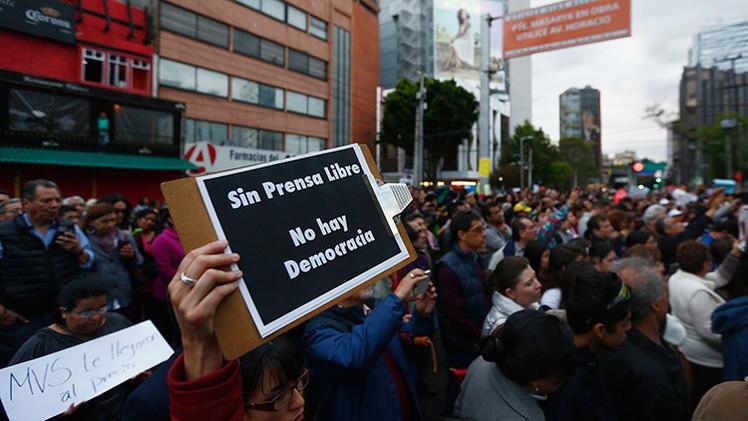 Informe internacional: México tiene el peor nivel de libertad de prensa en una década