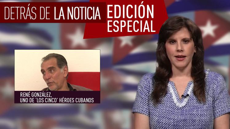 Entrevista con René González, uno de 'los cinco' héroes cubanos