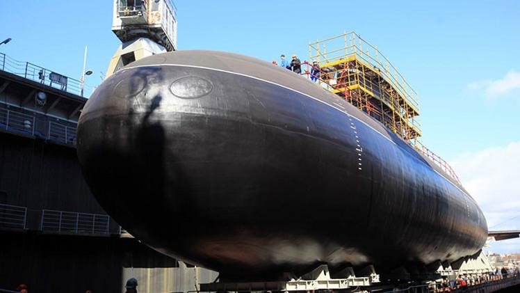 Video: Rusia bota su 'agujero negro', el submarino más silencioso en el mundo