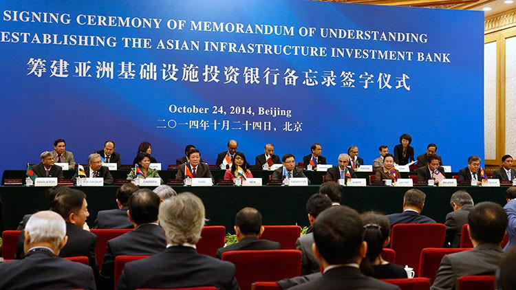 Los cuatro hechos cobre el Banco Asiático de Inversiones en Infraestructura