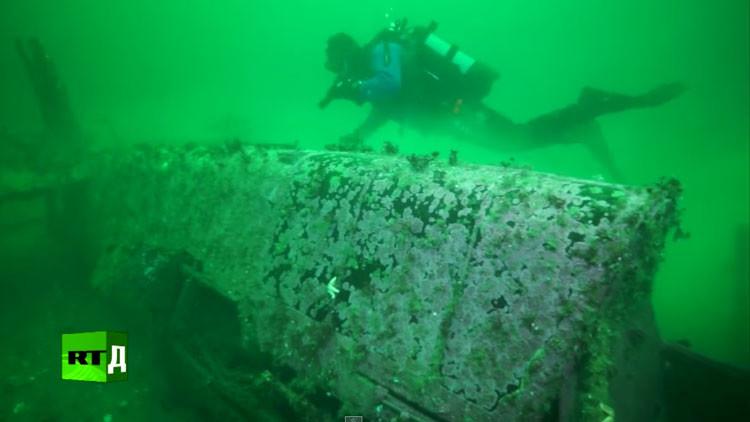Misterios del mar helado: RT estrena una grabación única de naves y aviones hundidos