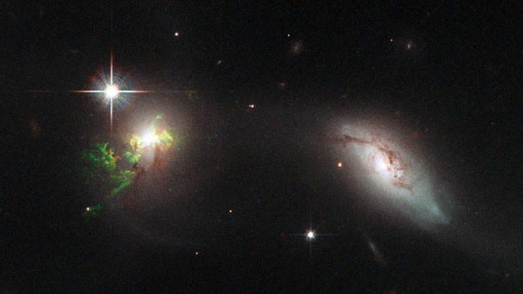 Hubble saca fotos de 'fantasmas' tras exploción radioactiva