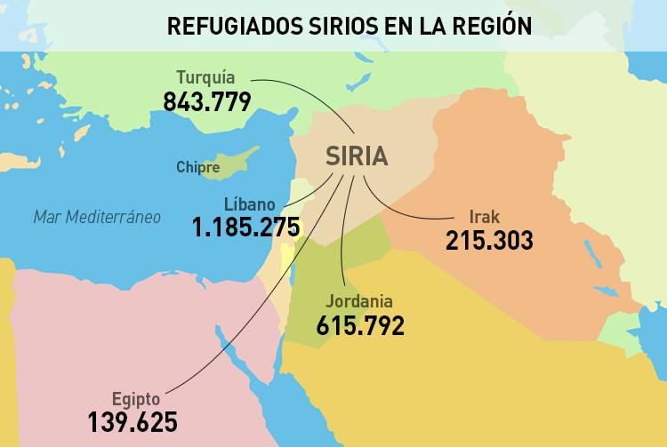 9 mapas que explican lo que est pasando en Oriente Medio  RT