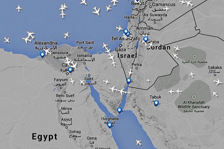 cbc59f32ae Mapas  Los lugares del mundo que los aviones no se atreven a cruzar - RT