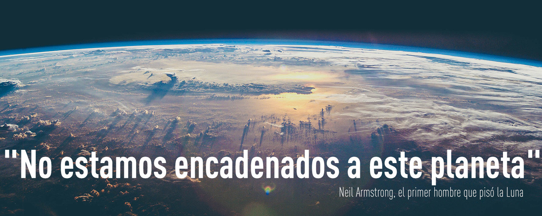 """""""No estamos encadenados a este planeta"""", Neil Armstrong, el primer hombre que pisó la Luna"""