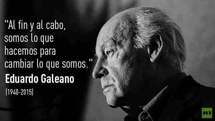 Fallece a los 74 años el escritor Eduardo Galeano