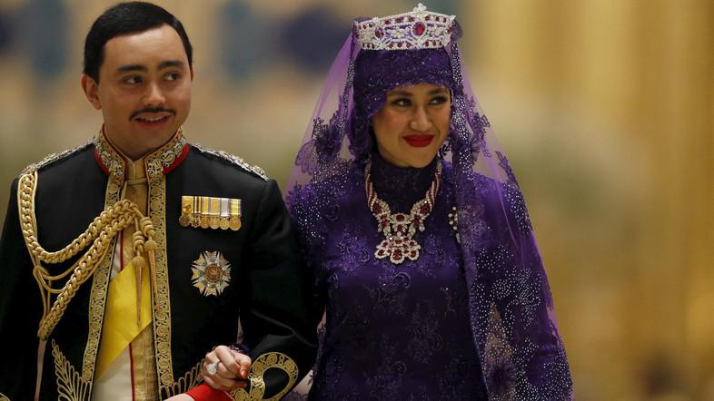 Las nupcias del príncipe Abdul Malik de Brunéi
