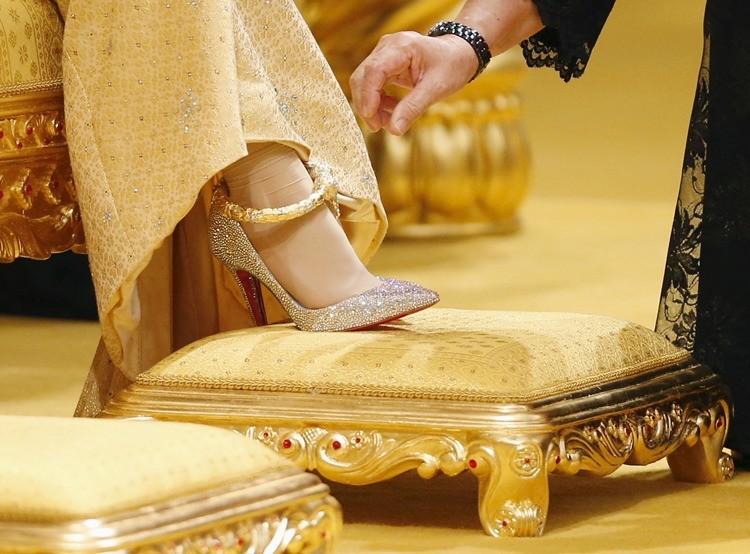 Brunéi celebra una opulenta boda principesca