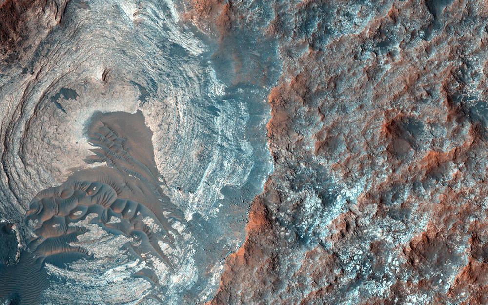El paisaje marciano donde se quiere pasear