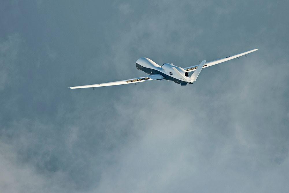 El Northrop Grumman MQ-4C Triton, dron de EE.UU.