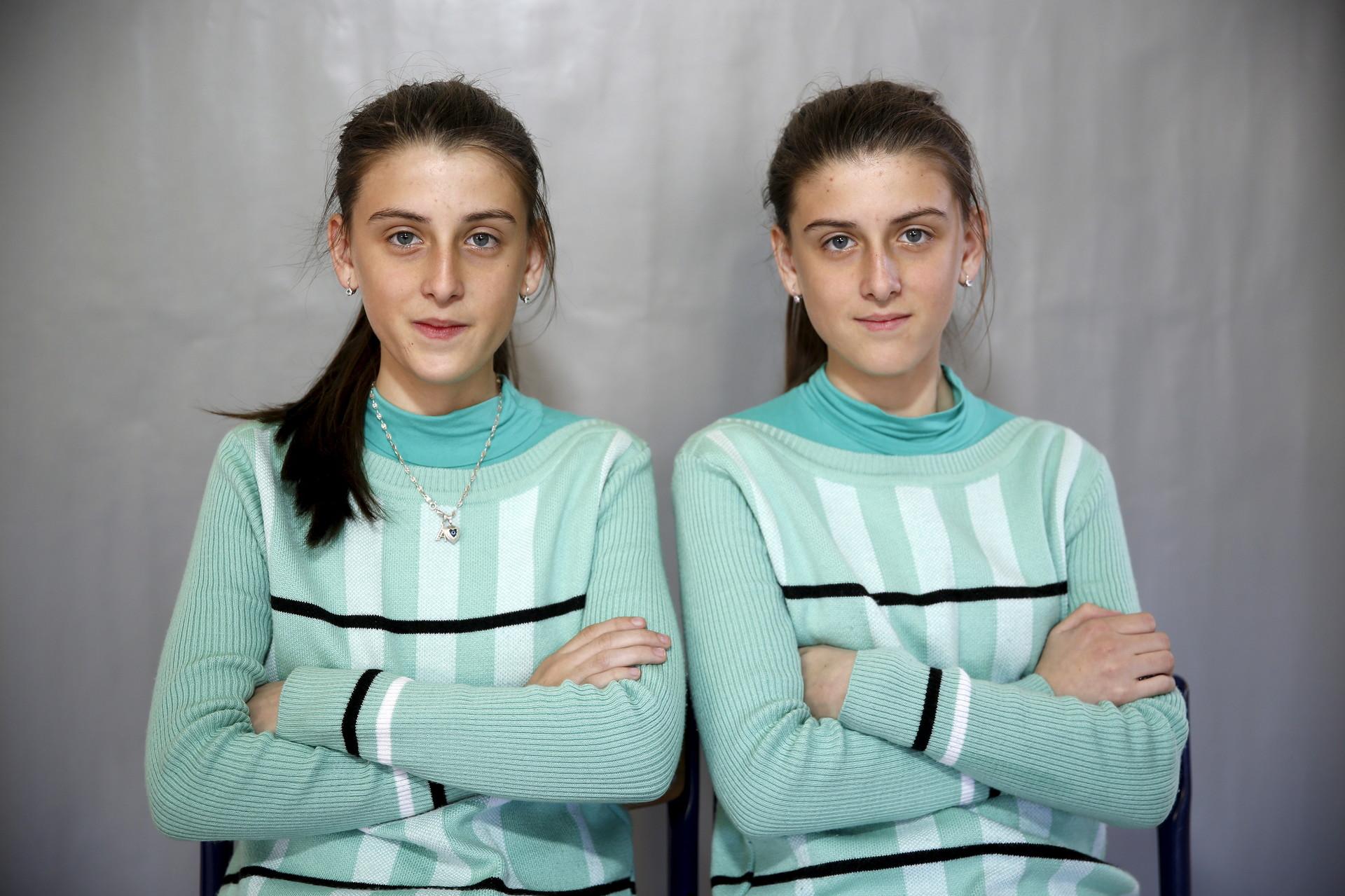 Almedina (izquierda) y Ajla Djulic