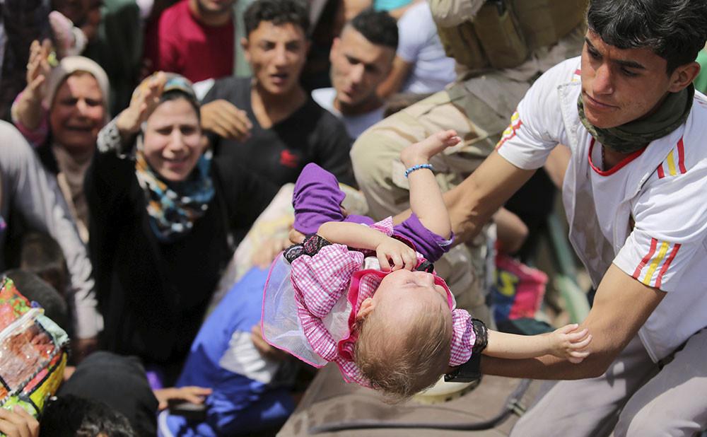Éxodo de los vecinos de la ciudad iraquí de Ramadi