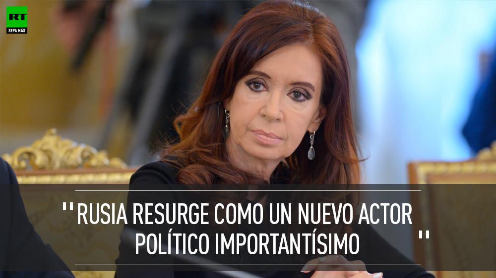 Visita de Cristina Fernández de Kirchner a Rusia