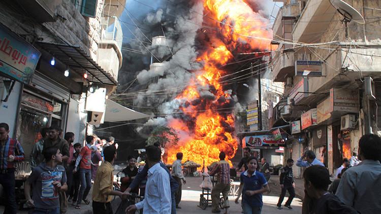 Aleppo, Siria, 20 de octubre de 2013