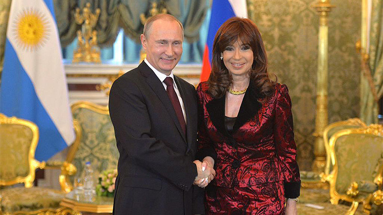 Cristina Fernandez de Kirchner se reune con Vladímir Putin