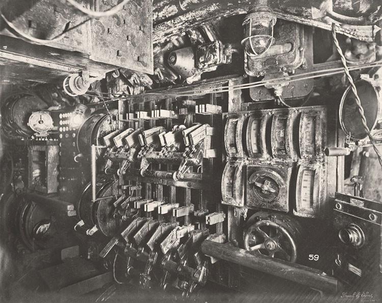 Extraordinaria imagen del interior de la Primera Guerra Mundial