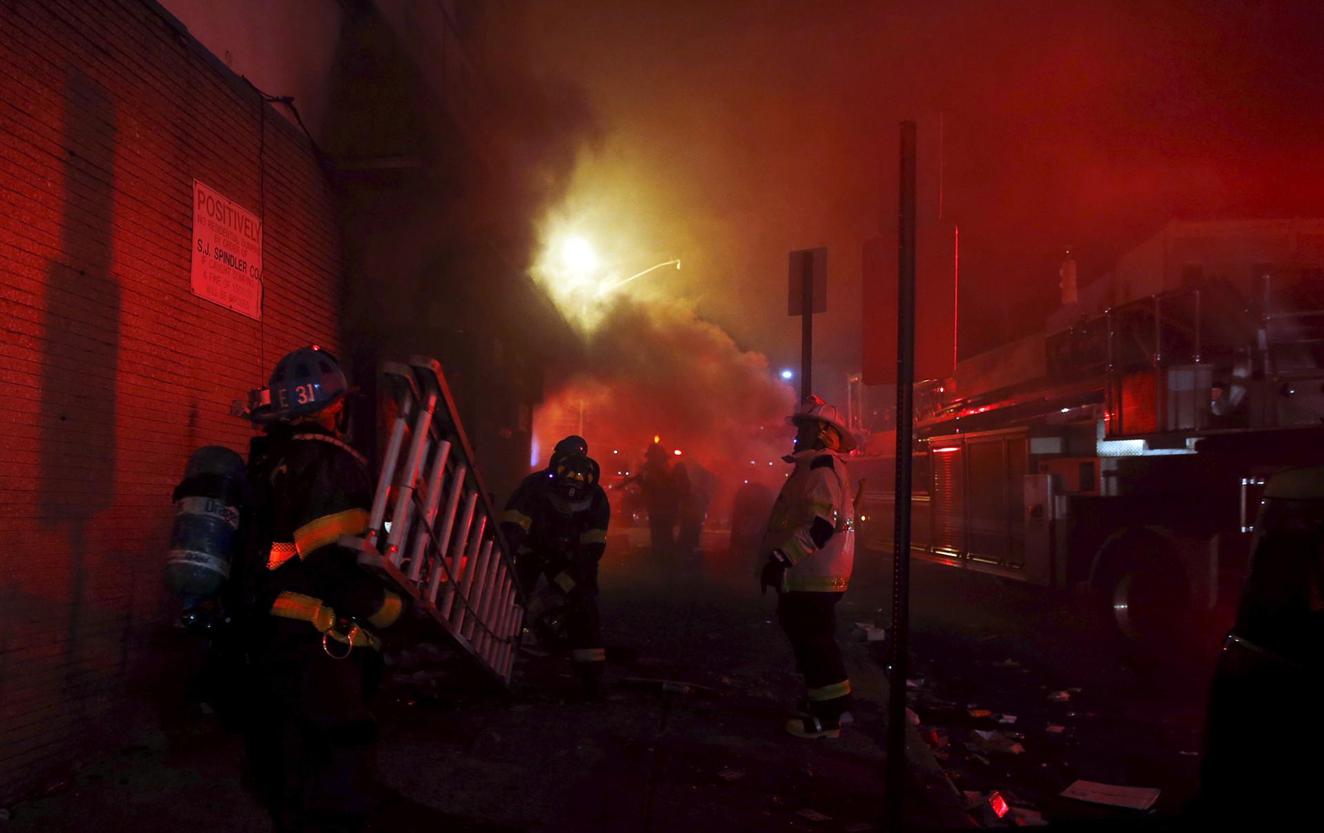 Incendio en Baltimore