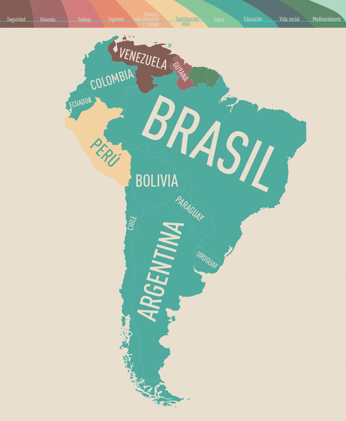 Infografía: ¿Qué es lo que más preocupa a los países de América Latina y el Caribe?