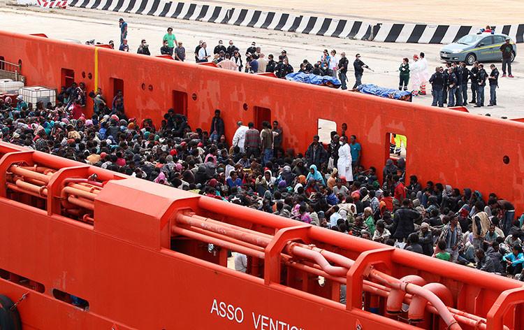 Hundir en el mar: para muchos migrantes africanos es la única oportunidad de mejorar su vida
