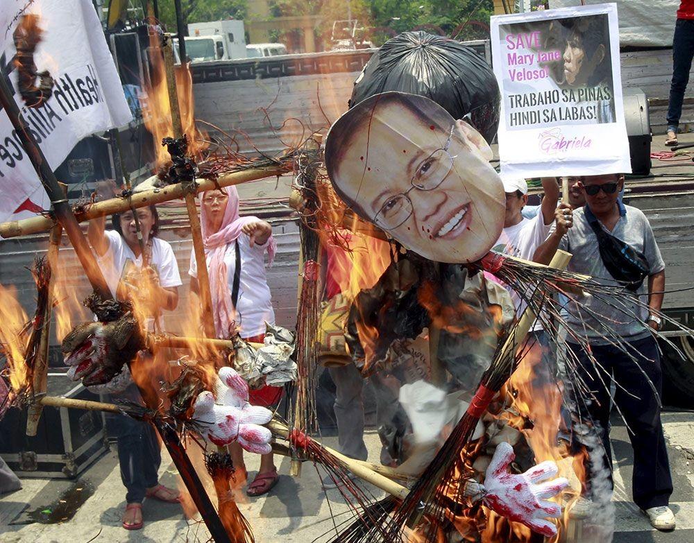 Protestas en Indonesia por la ejecución de los narcotraficantes