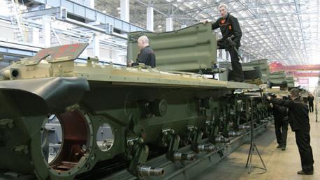 'Stern': El nuevo tanque ruso Armata, sin rival